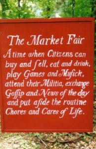 market fair sign